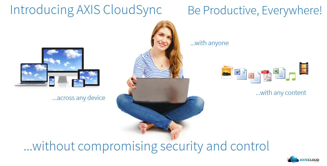 AXIS CloudSync Dropbox Alternative