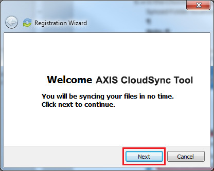 AXIS Cloud Sync Tool